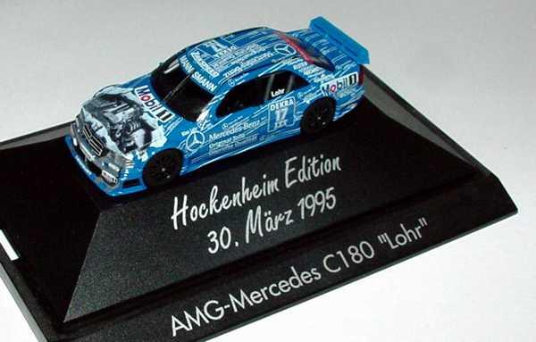 Foto 1:87 Mercedes-Benz C 180 DTM 1995 Original Teile Nr.17, Lohr (Hockenheim Edition 1995) herpa 036375