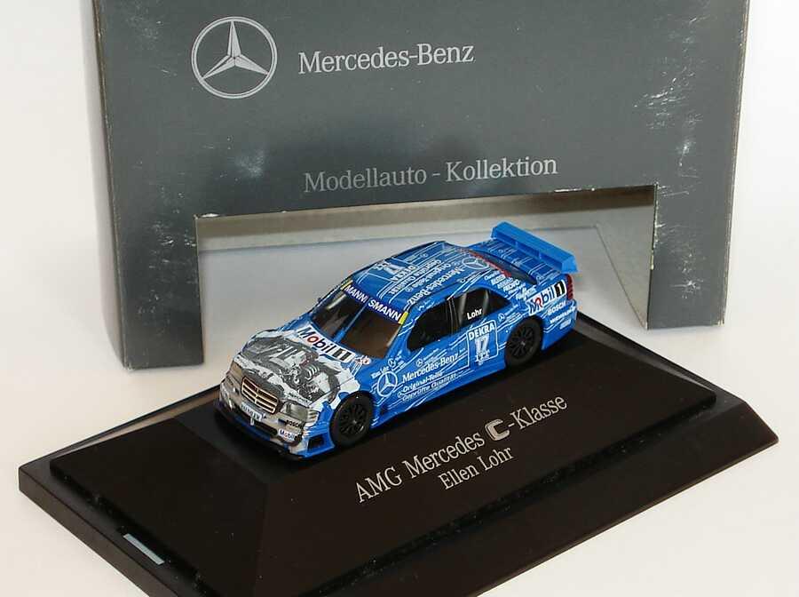 Foto 1:87 Mercedes-Benz C 180 DTM 1995 Original Teile Nr.17, Lohr Werbemodell herpa