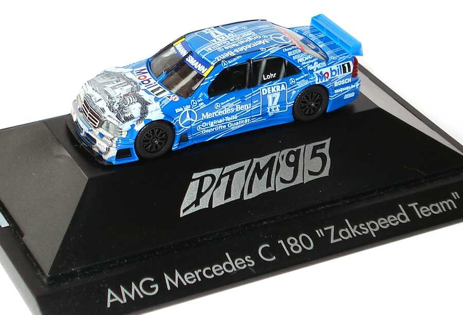Foto 1:87 Mercedes-Benz C 180 DTM 1995 Original Teile Nr.17, Lohr herpa 036528
