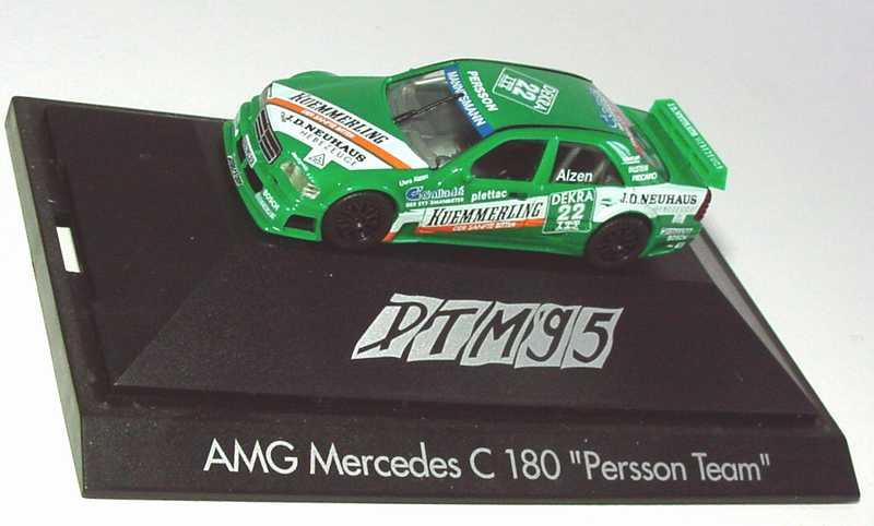Foto 1:87 Mercedes-Benz C 180 DTM 1995 Persson, Kümmerling Nr.22, Alzen herpa 036580