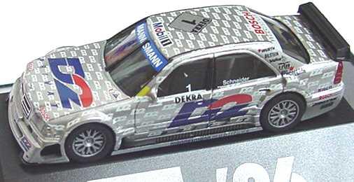 Foto 1:87 Mercedes-Benz C 180 (W202) ITC 1996 AMG, D2 Privat Nr.1, Bernd Schneider herpa 036894