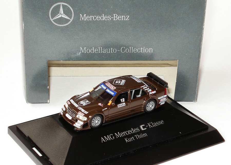 Foto 1:87 Mercedes-Benz C 180 (W202) ITC 1996 AMG, UPS Nr.12, Kurt Thiim Werbemodell herpa B66005329