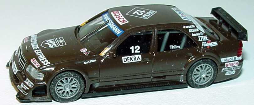 Foto 1:87 Mercedes-Benz C 180 (W202) ITC 1996 AMG, UPS Nr.12, Kurt Thiim(ohne PC-Box) herpa 036948