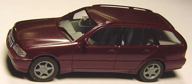 Foto 1:87 Mercedes-Benz C 180 Touring Facelift (S202) weinrot-met. herpa 032391