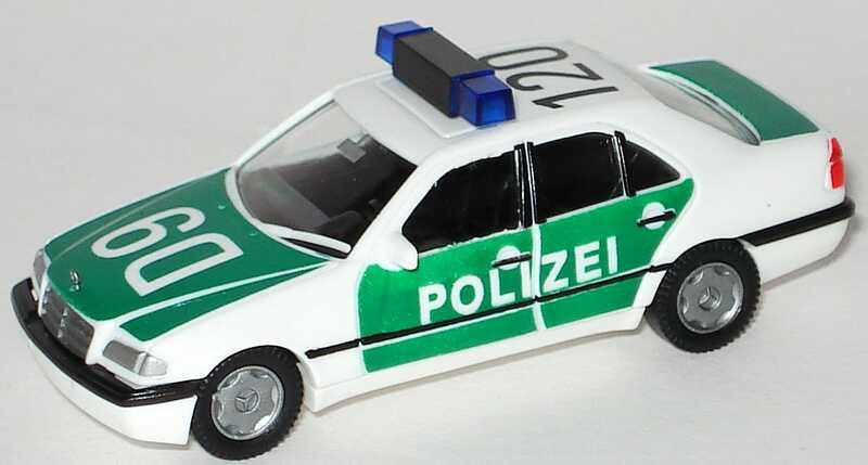 Foto 1:87 Mercedes-Benz C 200 (W202) Polizei D9 120 AMW/AWM