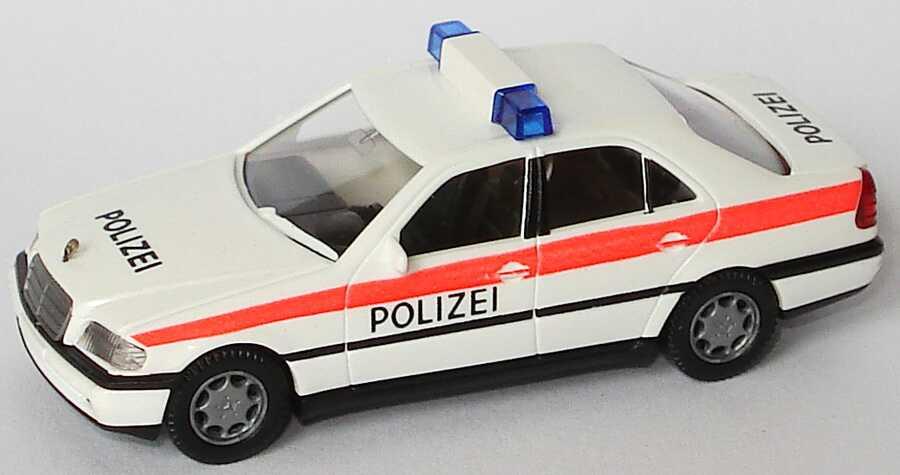 Foto 1:87 Mercedes-Benz C 200 (W202) Polizei Österreich Wiking 10403