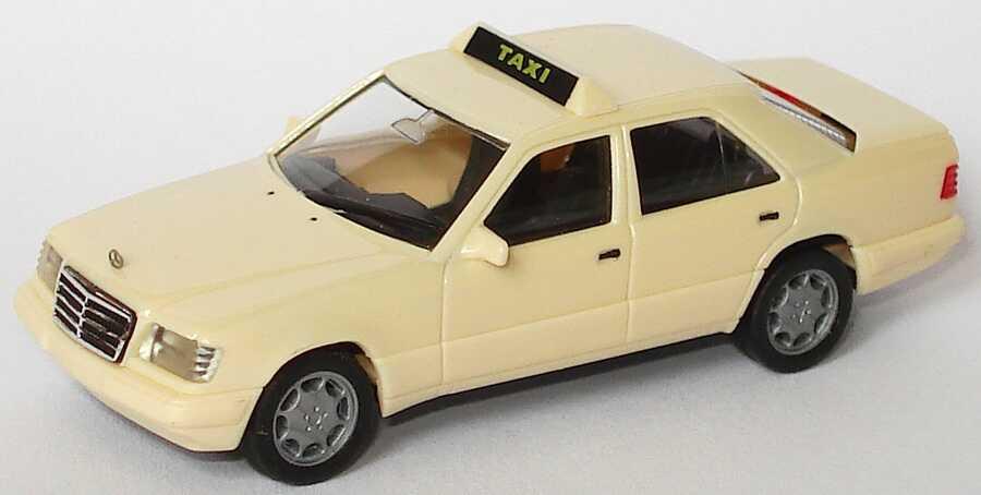 Foto 1:87 Mercedes-Benz E 320 (W124) Taxi (neuer Schildbalken) herpa