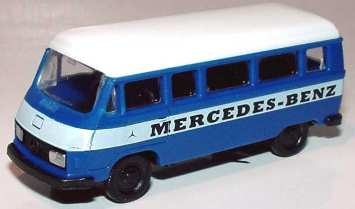 Foto 1:87 Mercedes-Benz L207 Bus Mercedes-Benz blau/weiß APS Collection
