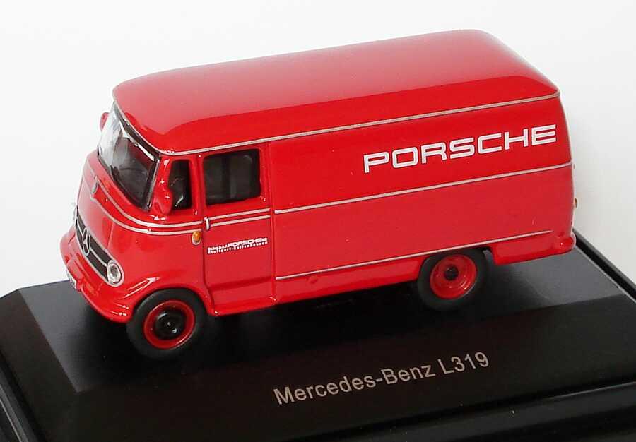 Foto 1:87 Mercedes-Benz L319 Kasten Porsche Schuco 452563300
