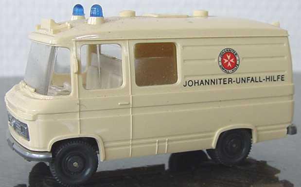 Foto 1:87 Mercedes-Benz L406 Rettungswagen Johanniter-Unfall-Hilfe Wiking