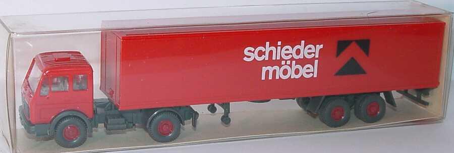 Mercedes Benz L Koszg 22 Schieder Möbel Wiking 542 In Der 1zu87