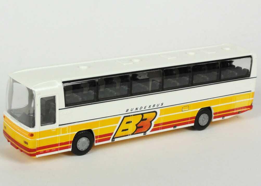 Foto 1:87 Mercedes-Benz O 303 RHD Bundesbus, BB Rietze 00338/60291