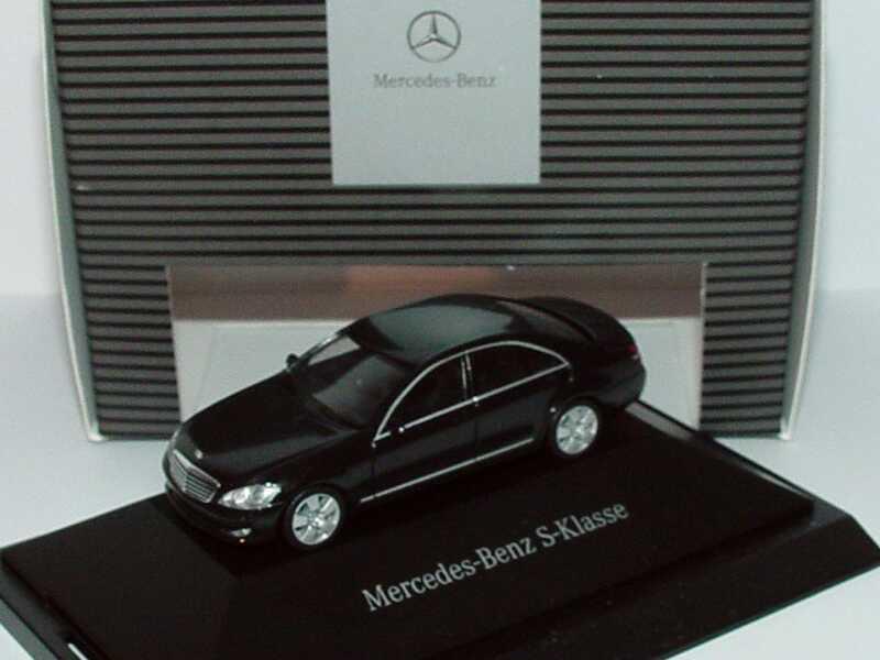 Mercedes Benz S Klasse W221 2005 Obsidianschwarz Met