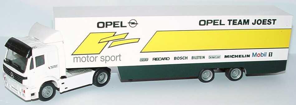 Foto 1:87 Mercedes-Benz SK ´94 Fv Cv RenntransportSzg 2/2 DTM 1995 Opel Team Joest herpa 036627