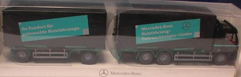 Foto 1:87 Mercedes-Benz SK ´94 WKoHgz 3/2 MB Nutzfahrzeug-Gebrauchtwagen-Center Werbemodell Wiking B66000070