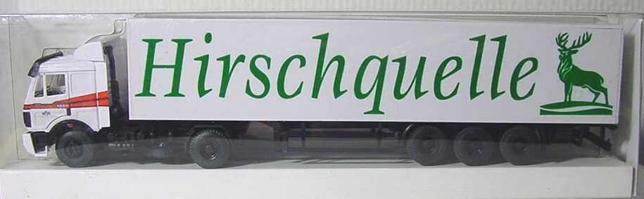 Foto 1:87 Mercedes-Benz SK Fv KoSzg 2/3 Hirschquelle Werbemodell B&S Automodelle B66000040