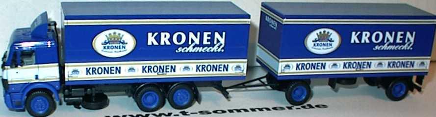 Foto 1:87 Mercedes-Benz SK GetränkeKoHgz 3/2 Kronen Brauerei Dortmund herpa 182072