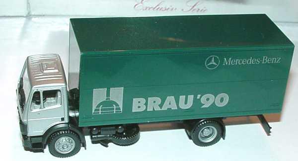 Foto 1:87 Mercedes-Benz SK (K) 2a GetränkeKo-Lkw Brau ´90 herpa