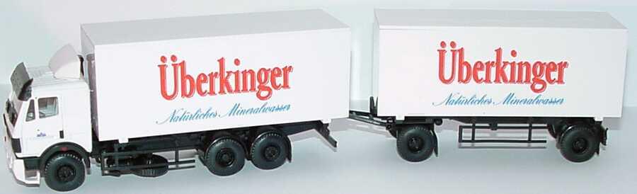 Foto 1:87 Mercedes-Benz SK WKoHgz 2/2 Überkinger Natürliches Mineralwasser B&S Automodelle