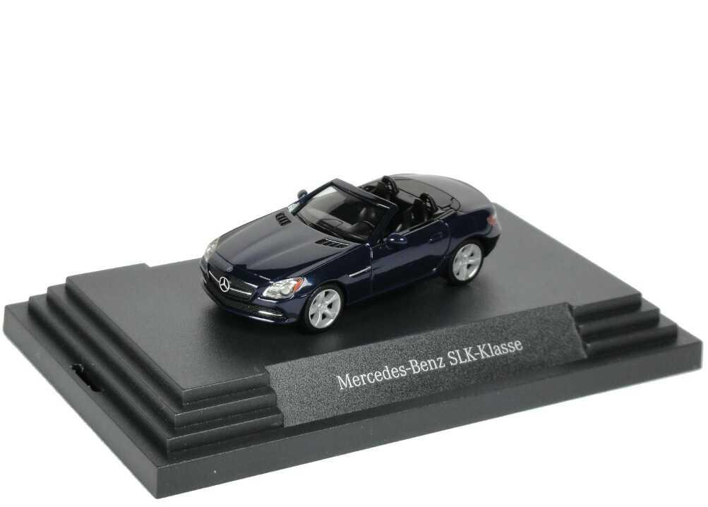 Foto 1:87 Mercedes-Benz SLK R172 cavansitblau-met. - Werbemodell - herpa B66960506