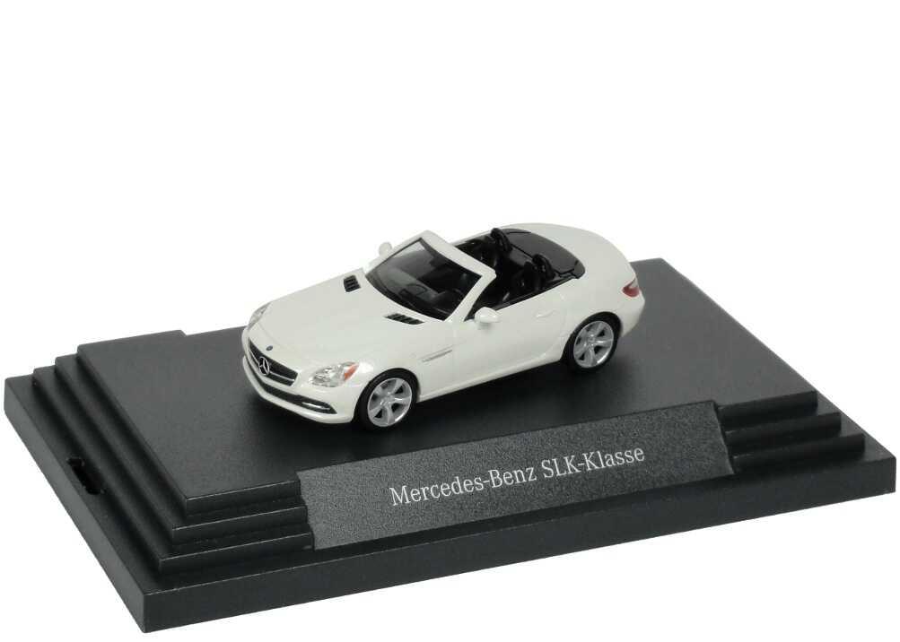 Foto 1:87 Mercedes-Benz SLK R172 diamantweiß-met. - Werbemodell - herpa B66960508