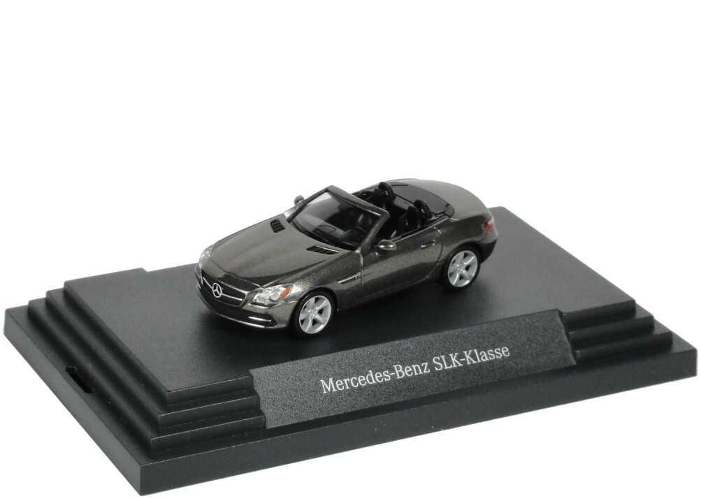 Foto 1:87 Mercedes-Benz SLK R172 indiumgrau-met. - Werbemodell - herpa B66960507