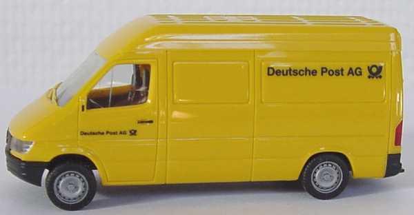 Foto 1:87 Mercedes-Benz Sprinter Kasten Hochdach Deutsche Post AG herpa 042680