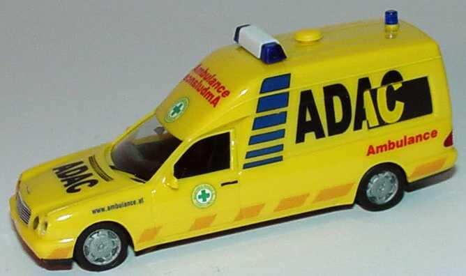 Foto 1:87 Mercedes-Benz W210 Binz KTW ADAC Ambulance (Österreich) herpa 045544