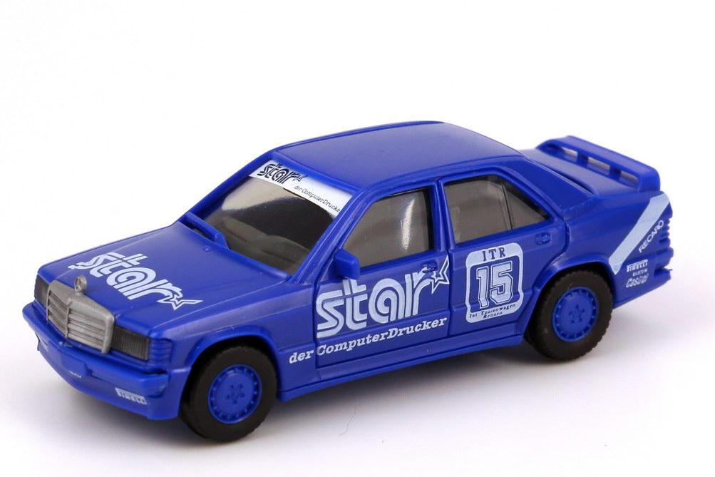 Foto 1:87 Mercedes-Benz 190E 2.3-16 W201 DTM 1988 RSM Marko Star Nr. 15 v. Ommen herpa 3566