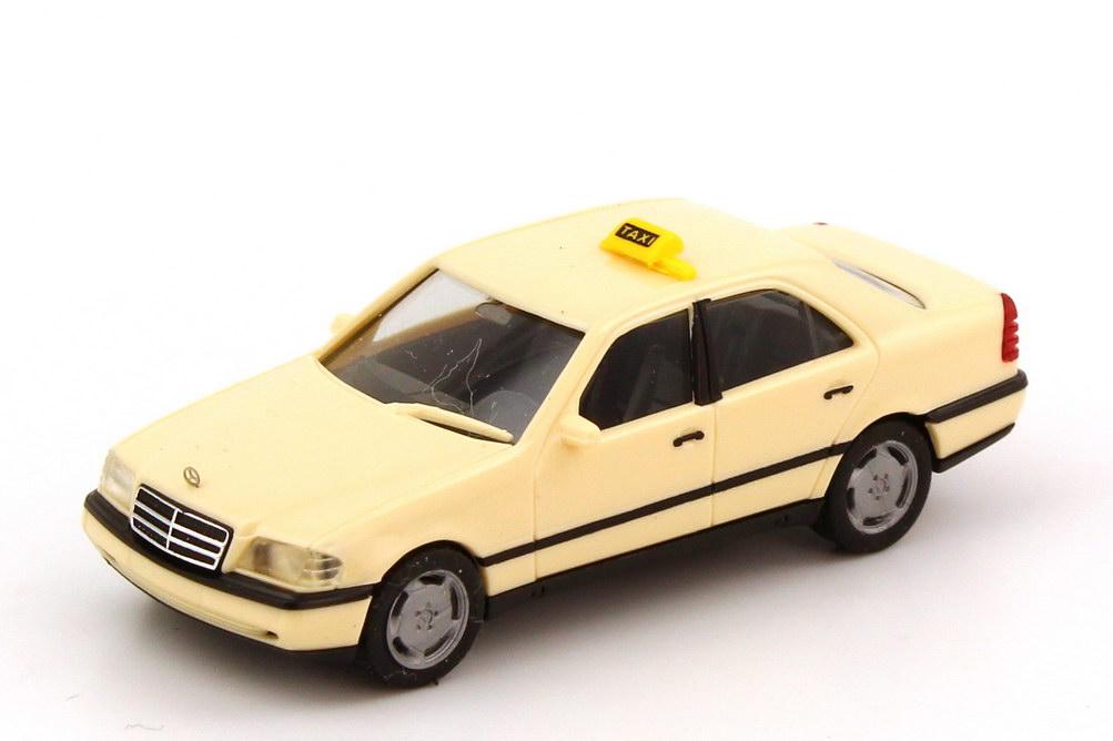 Foto 1:87 Mercedes-Benz C-Klasse (W202) Taxi herpa 042031