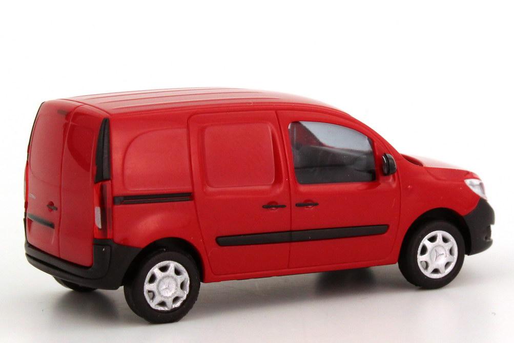 Foto 1:87 Mercedes-Benz Citan (C415) Kasten amarena-rot Werbemodell Busch B66964119
