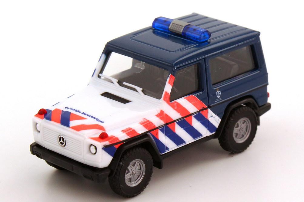 Foto 1:87 Mercedes-Benz G-Modell 300GE (W463) Militärpolizei Niederlande herpa