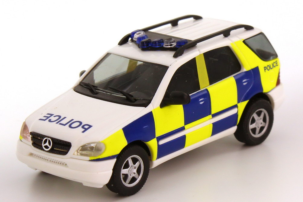 Foto 1:87 Mercedes-Benz M-Klasse ML 320 (W163) Police, Polizei England Busch 48510