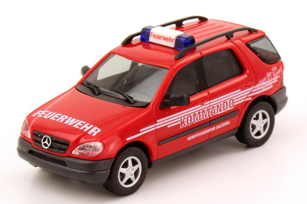 Foto 1:87 Mercedes-Benz M-Klasse ML 320 (W163) Feuerwehr Salzburg Kommando Busch 48512