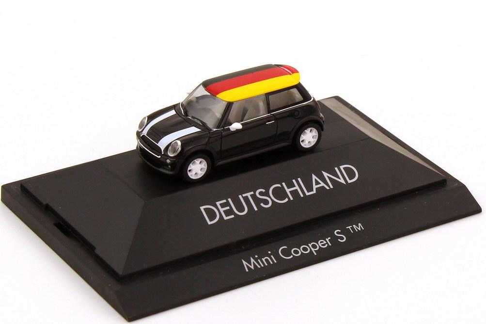 Foto 1:87 Mini Cooper S (R53) Länder-Mini Deutschland herpa 101462
