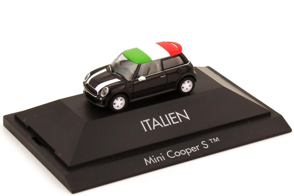 Foto 1:87 Mini Cooper S (R53) Länder-Mini Italien herpa 101547