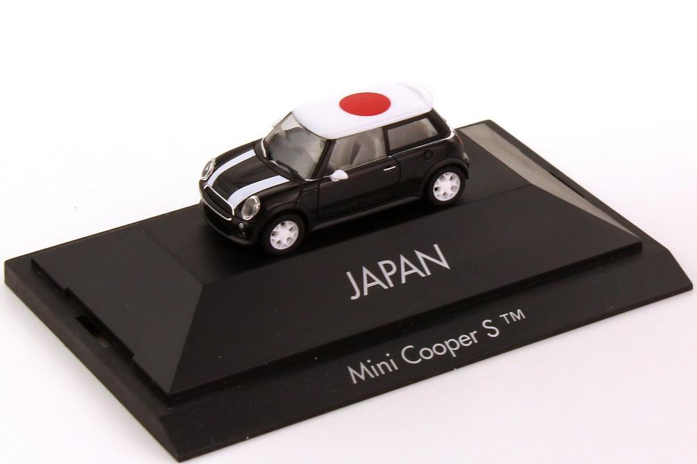 Foto 1:87 Mini Cooper S (R53) Länder-Mini Japan herpa 101493