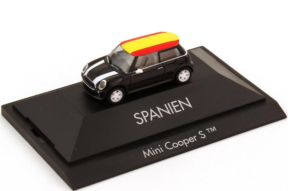 Foto 1:87 Mini Cooper S (R53) Länder-Mini Spanien herpa 101486