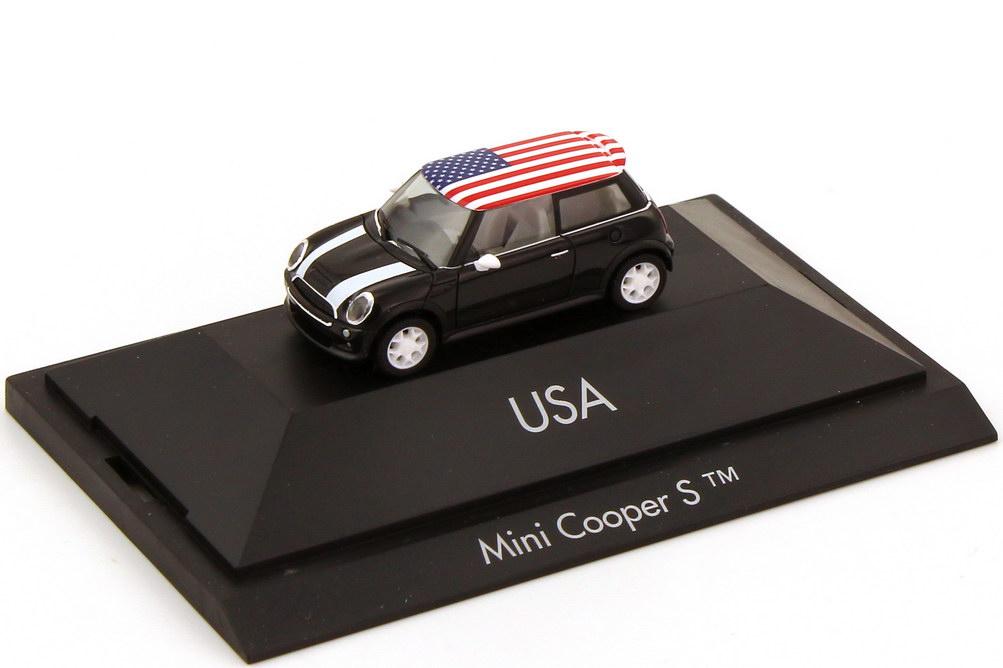 Foto 1:87 Mini Cooper S (R53) Länder-Mini USA herpa 101530