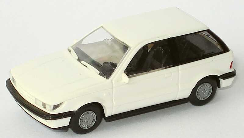 Foto 1:87 Mitsubishi Colt 2türig weiß Rietze