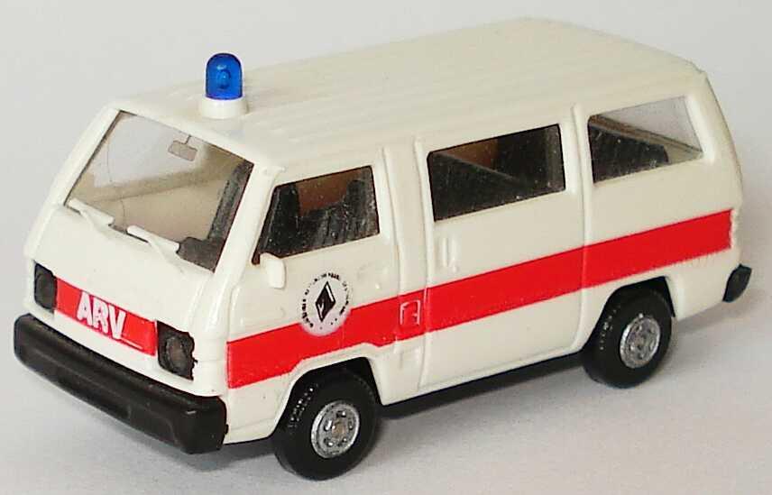 Foto 1:87 Mitsubishi L300 I Bus ARV - Allgemeiner Rettungsverband Deutschland e.V. Rietze