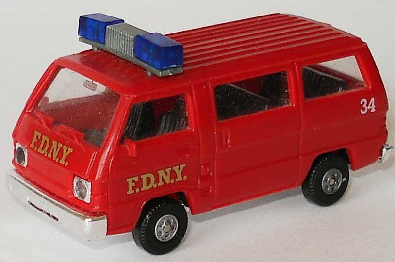 Foto 1:87 Mitsubishi L300 I Bus F.D.N.Y., 34 (Fire Dept. New York) Rietze