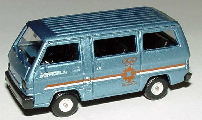 Foto 1:87 Mitsubishi L300 I Bus Olympic Games 1984 Sarajevo, Official Car Rietze