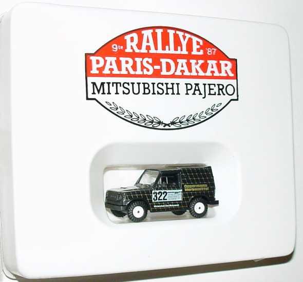 Foto 1:87 Mitsubishi Pajero Rallye Paris-Dakar Oppermann Werbemittel Nr.322 Rietze