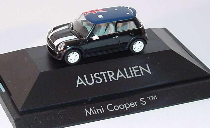 Foto 1:87 Mini Cooper S (R53) Länder-Mini Australien herpa 101479