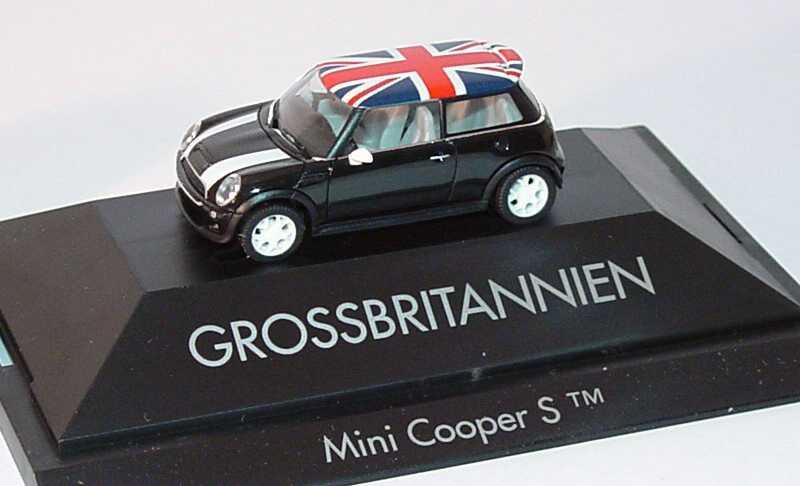 Foto 1:87 Mini Cooper S (R53) Länder-Mini Grossbritannien herpa 101509