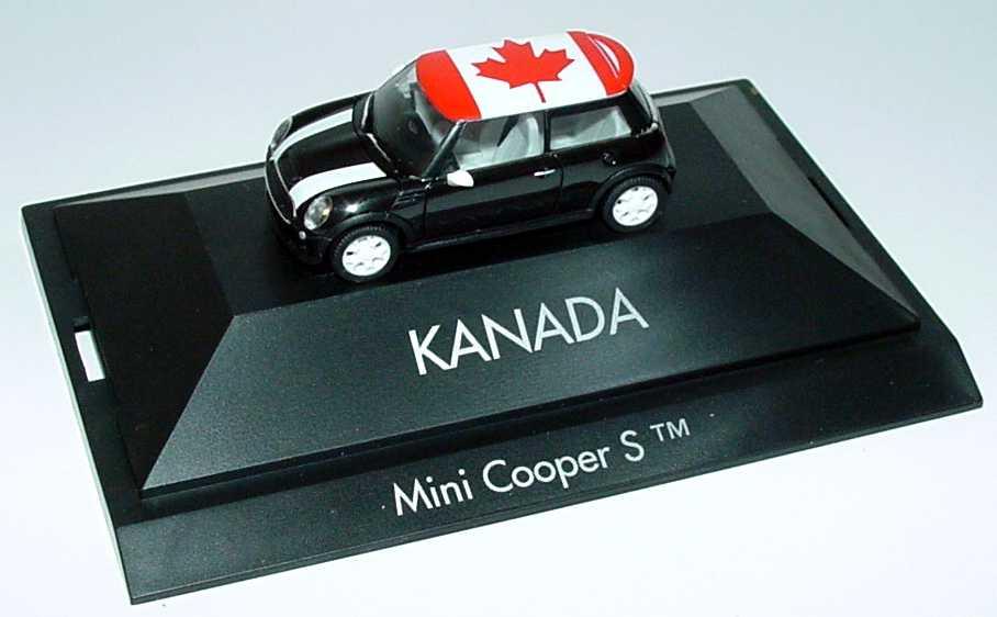 Foto 1:87 Mini Cooper S (R53) Länder-Mini Kanada herpa 101523