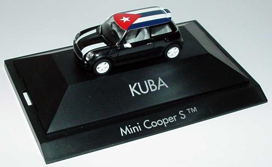 Foto 1:87 Mini Cooper S (R53) Länder-Mini Kuba herpa 101554