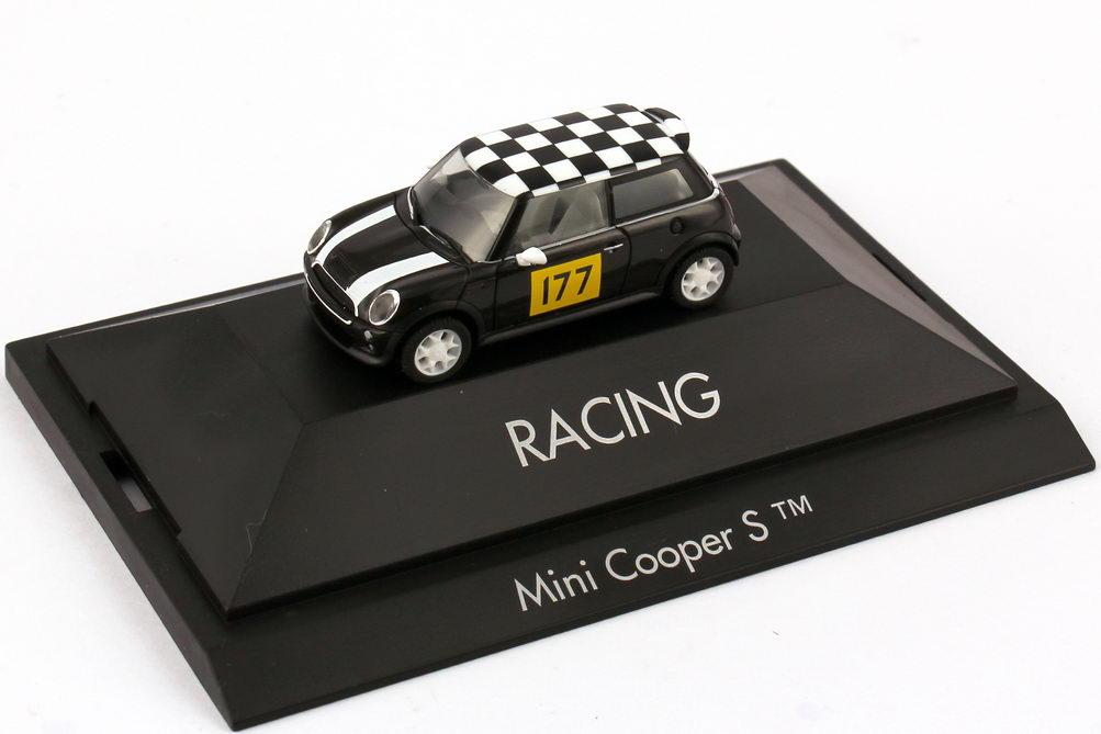 Foto 1:87 Mini Cooper S (R53) Länder-Mini Racing Nr.177 herpa 101578