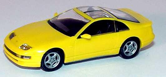 Foto 1:87 Nissan 300 ZX / Fairlady Z gelb Kato 71-501